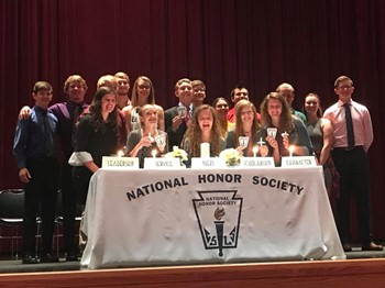 New NHS Members for 2018