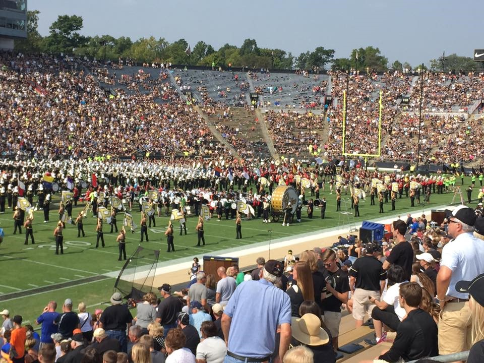 Purdue - HS marching band day
