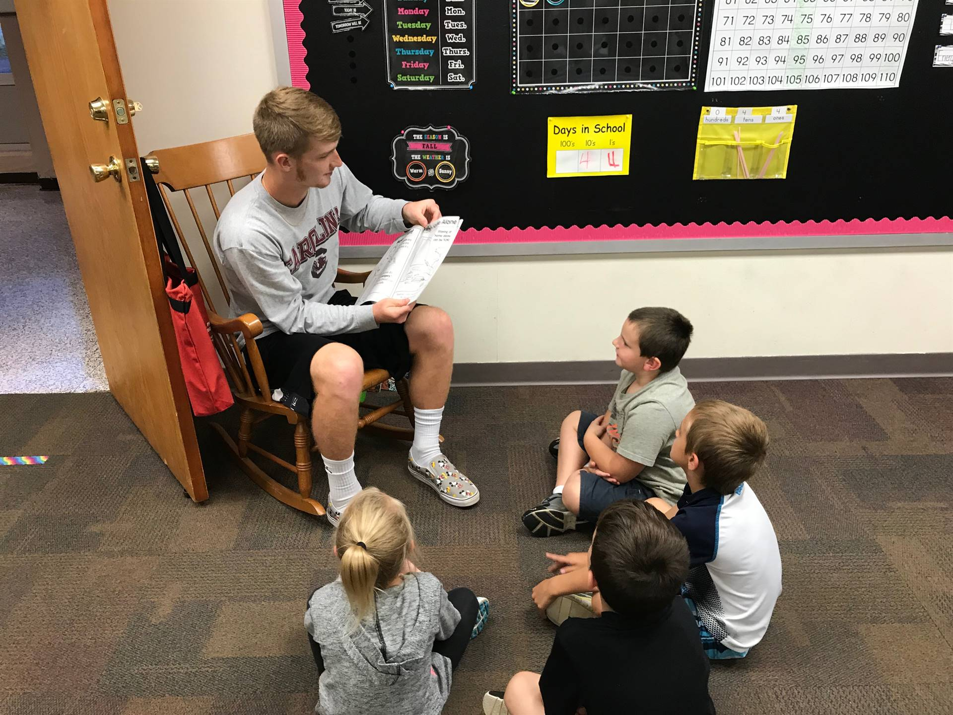 AHS Fall Athlete Reading Day