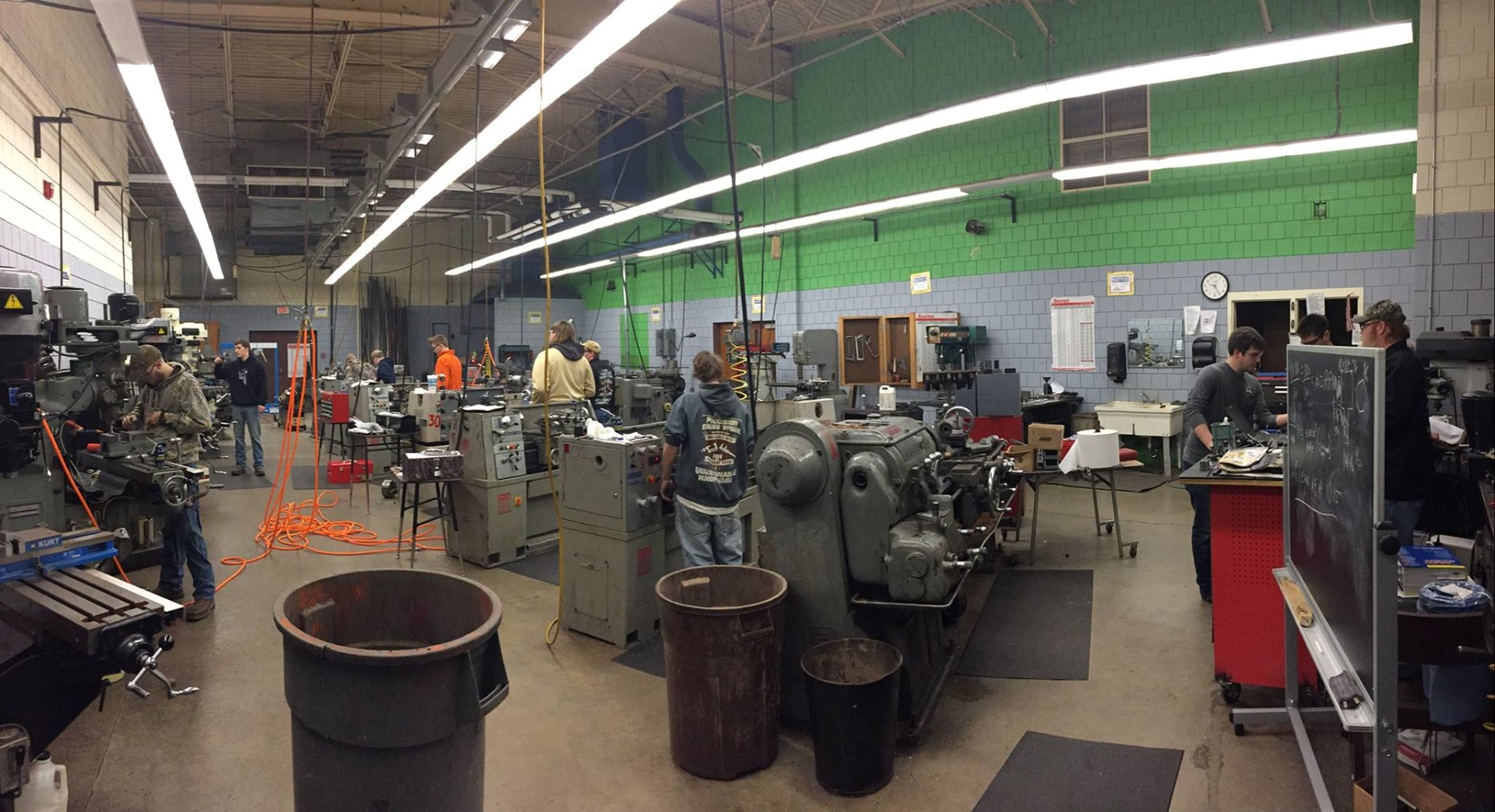 Attica High School Machine Shop