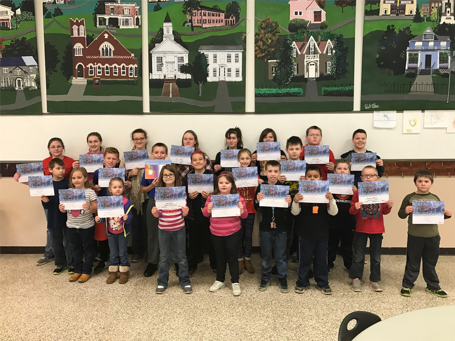 Students of the Month--February