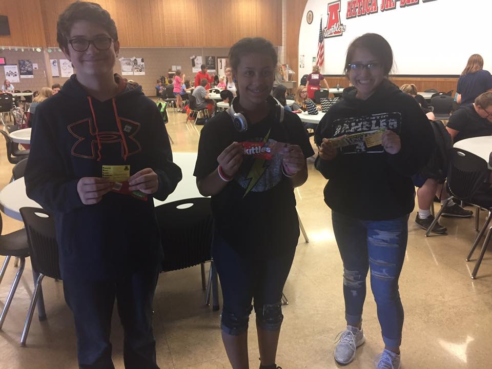 C Lunch Pride Ticket Winners