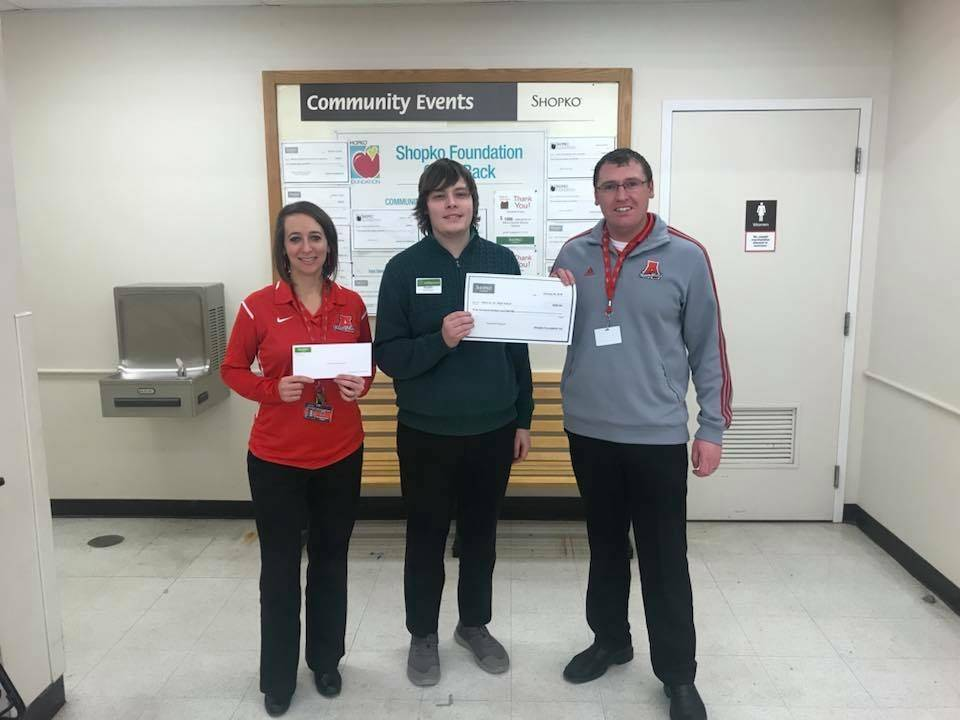 Thanks to Shopko and the Shopko Foundation for your Support of Attica Schools